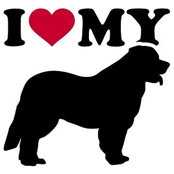 I love my Leonberger by Designzz