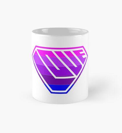 Love SuperEmpowered (Light Pink, Purples & Blue) Mug