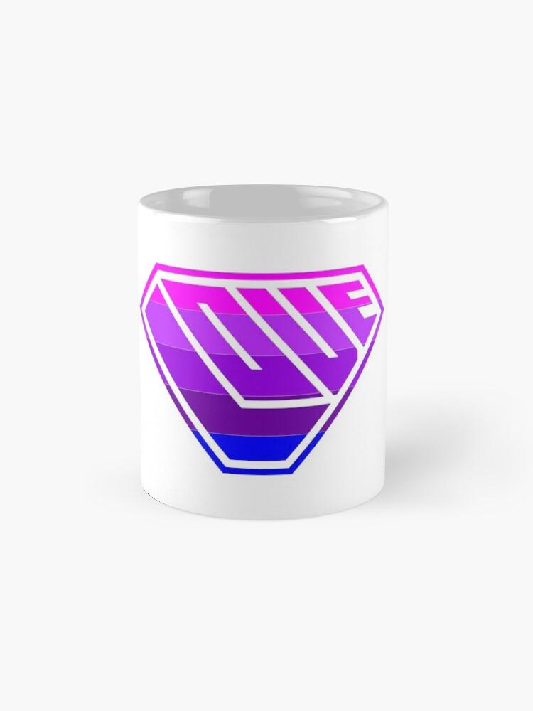 Alternate view of Love SuperEmpowered (Light Pink, Purples & Blue) Standard Mug