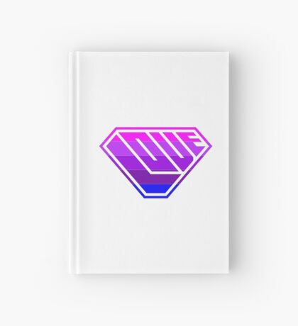Love SuperEmpowered (Light Pink, Purples & Blue) Hardcover Journal
