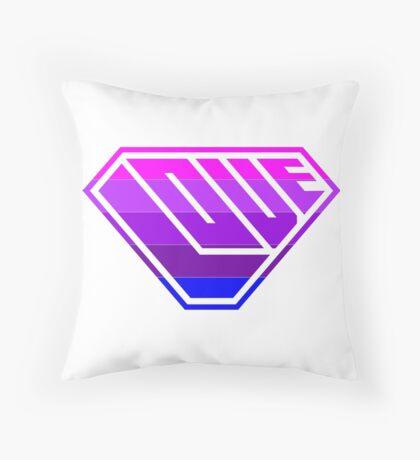 Love SuperEmpowered (Light Pink, Purples & Blue) Floor Pillow