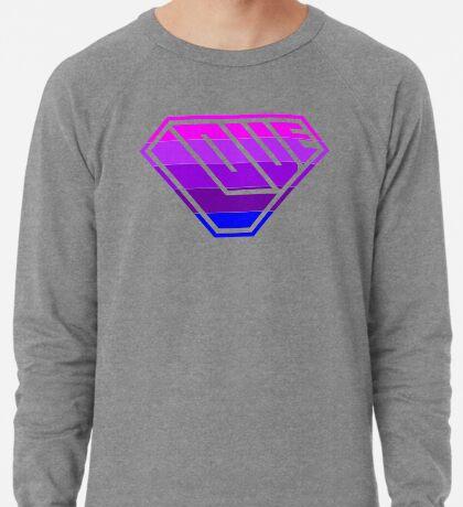 Love SuperEmpowered (Light Pink, Purples & Blue) Lightweight Sweatshirt