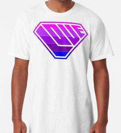 Love SuperEmpowered (Light Pink, Purples & Blue) Long T-Shirt