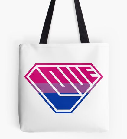 Love SuperEmpowered (Pink, Purple & Blue) Tote Bag