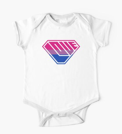 Love SuperEmpowered (Pink, Purple & Blue) Kids Clothes
