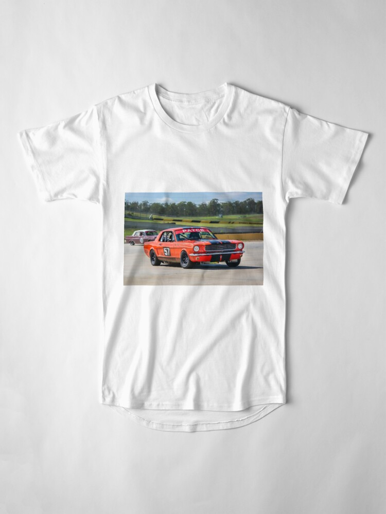 Alternate view of 1966 Mustang Long T-Shirt