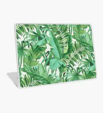 Green tropical leaves II Laptop Folie