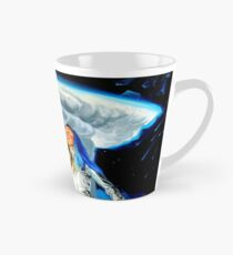 Space Woman Knows the Way Tall Mug