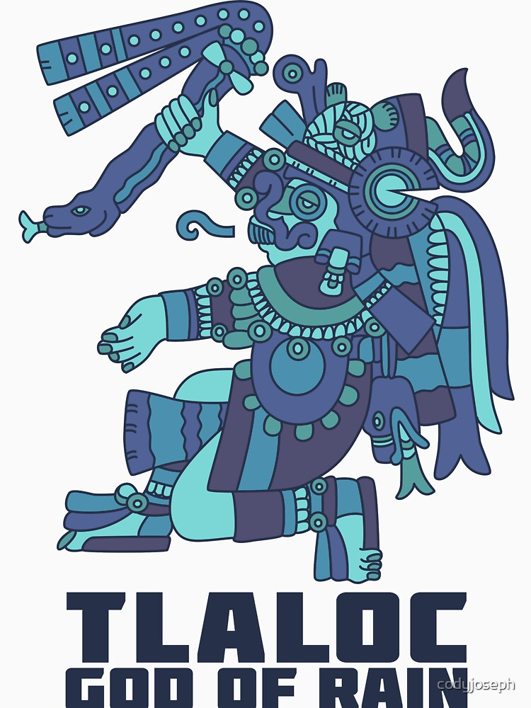Tlaloc, God of Rain by codyjoseph