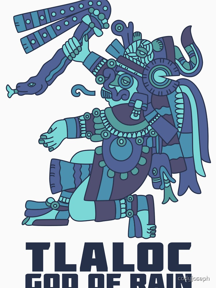 Tlaloc, God of Rain by codyjoseph
