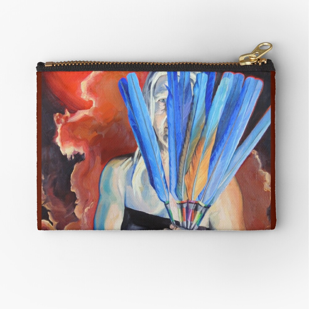 You Cannot Hide Any Longer Zipper Pouch