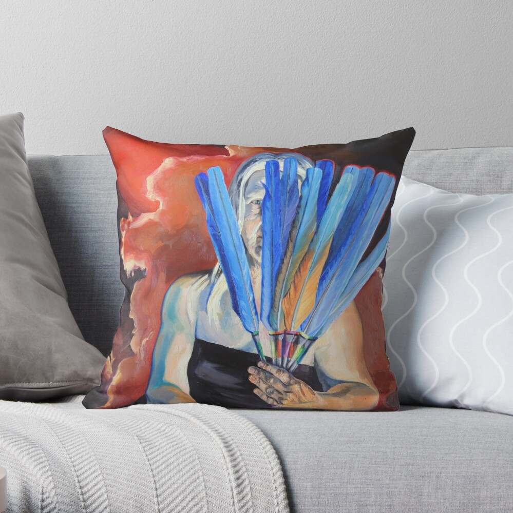 You Cannot Hide Any Longer Throw Pillow