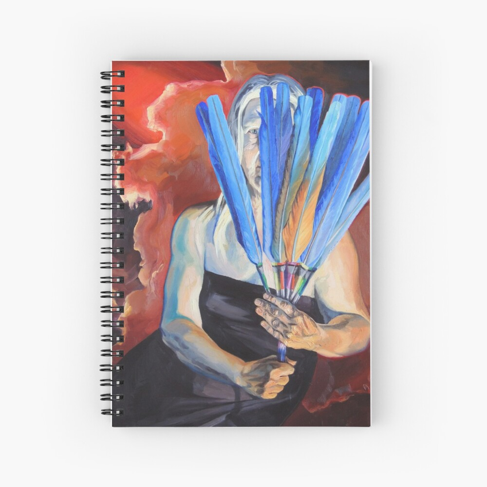 You Cannot Hide Any Longer Spiral Notebook