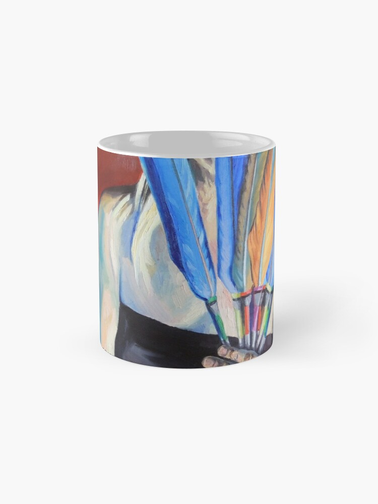 Alternate view of You Cannot Hide Any Longer Mug