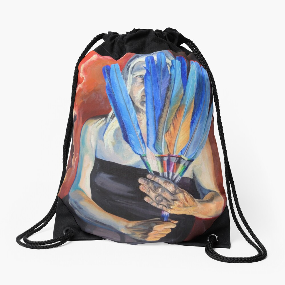 You Cannot Hide Any Longer Drawstring Bag