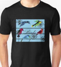Birds Royal Unisex T-Shirt