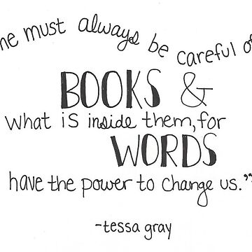 Tessa Gray Quote by lighttwoods