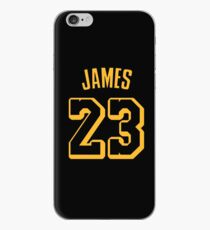 3980f1315352 LeBron James Lakers Hollywood Jersey iPhone Case