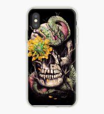 Schlange und Schädel iPhone-Hülle & Cover