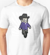 My unicycling, 10-gallon hat wearing chum Unisex T-Shirt