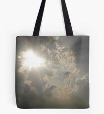 Clouds Arriving Tote Bag