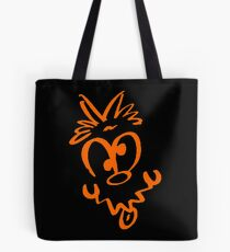 Just a Simple Funny Face Tote Bag