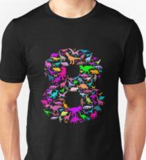 8 years birthday dinosaur kids Unisex T-Shirt