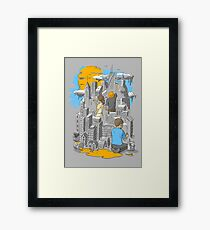 Children's City Framed Print