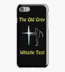 Whistle Test nostalgia iPhone Case/Skin