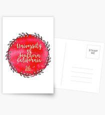 University of Southern California Postcards