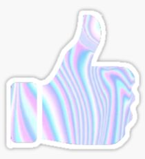 Holographic Thumbs Up Sticker