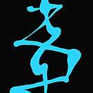 Amaze 1 in blue! by Maureen Eckert