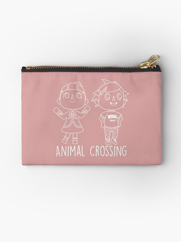 Animal Crossing Villagers Outline Studio Pouches By Brokensixteen
