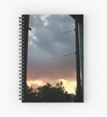 A Very Old Cloud on Cate St. Spiral Notebook