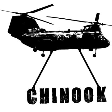 Chinook Helicopter by markstones