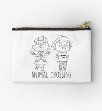 Animal Crossing Villagers Outline Studio Pouch