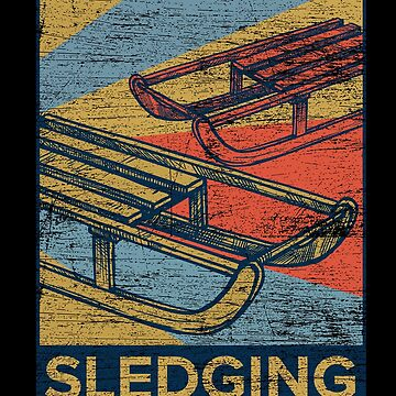 Sledge driving sled by GeschenkIdee