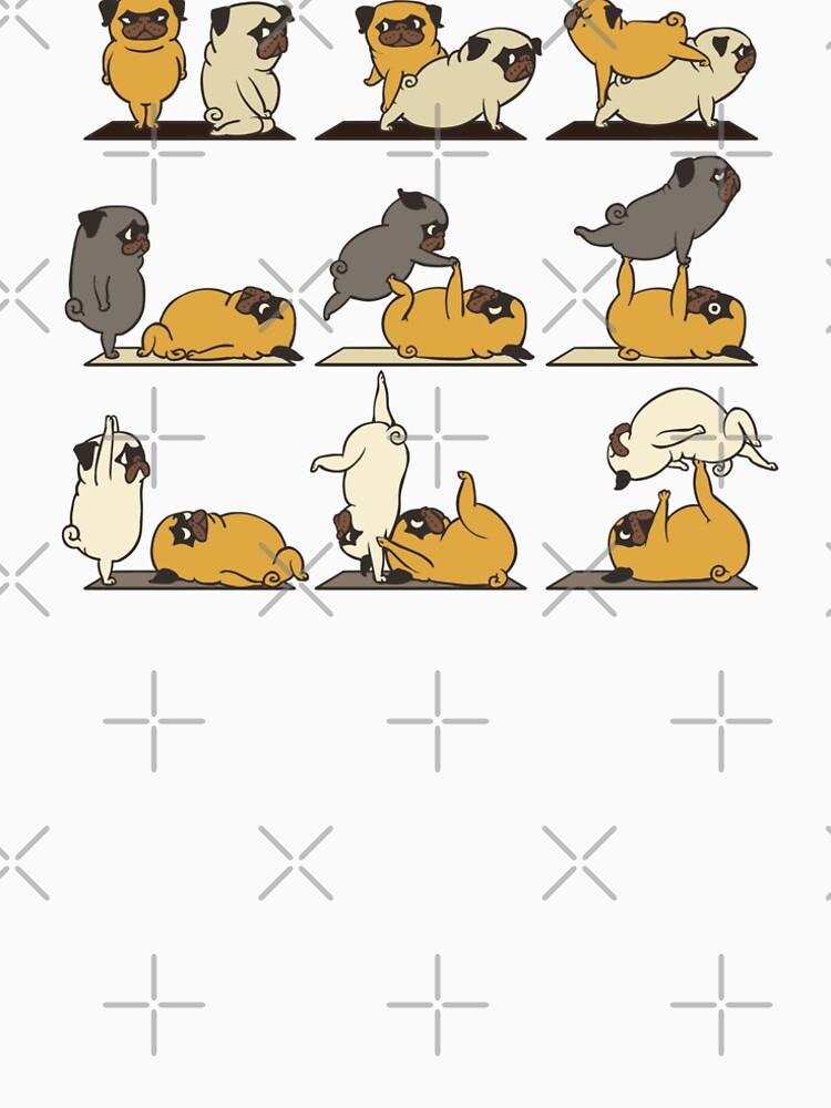 AcroYoga with The Pug by Huebucket