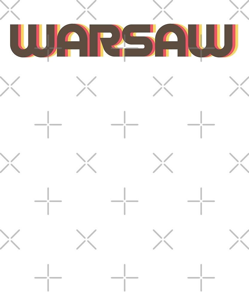 Retro Warsaw T-Shirt by designkitsch