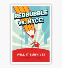 RedBubble vs. NYCC Sticker