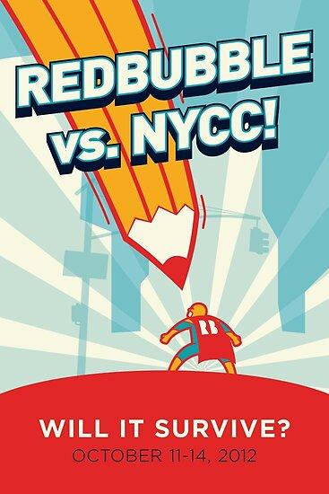 RedBubble vs. NYCC by Luis Enrique Cuéllar Peredo