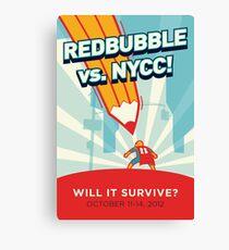 RedBubble vs. NYCC Canvas Print