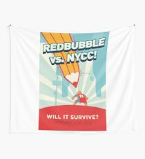 RedBubble vs. NYCC Wall Tapestry