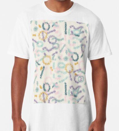 Playful #redbubble #abstractart Long T-Shirt