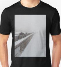 Winter in town. Unisex T-Shirt
