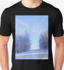 Белая дорога. Unisex T-Shirt