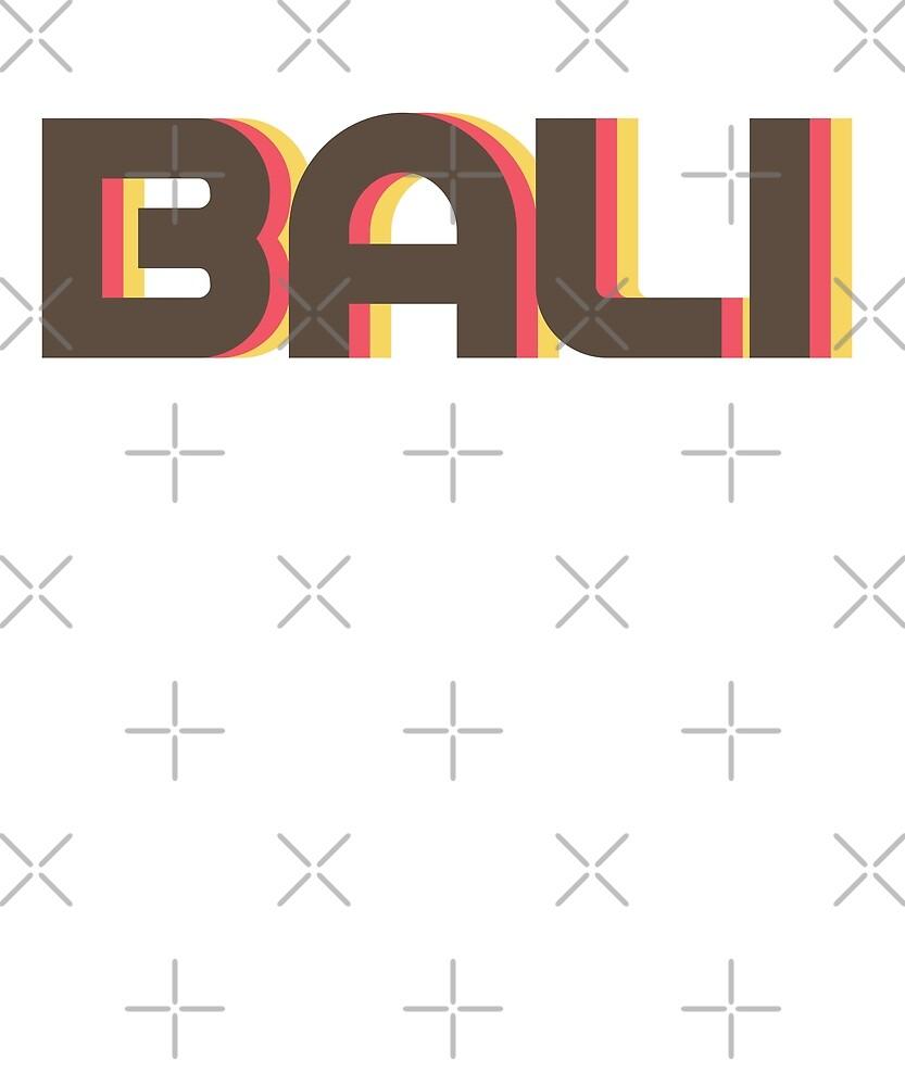 Retro Bali T-Shirt by designkitsch