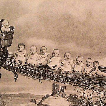 Krampus taking children by Geekimpact