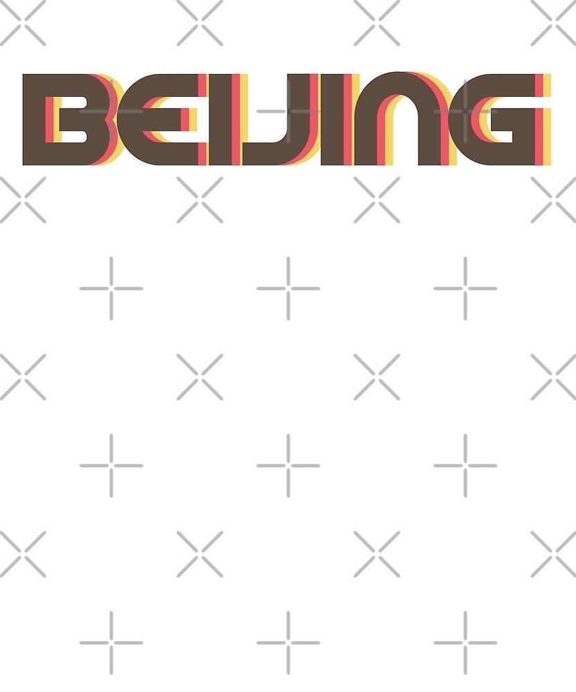 Retro Beijing T-Shirt by designkitsch