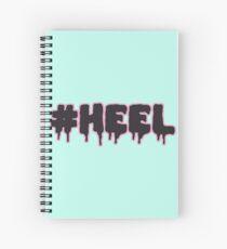 #HEEL - Pastel B Spiral Notebook